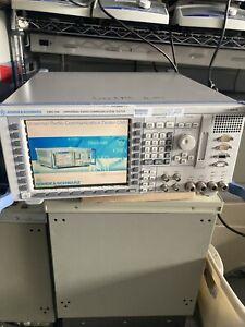 Rhode & Schwartz CMU200 : Universal Radio Communications Tester