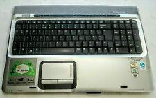 HP Pavilion DV9000 DV9500 Palmrest Keyboard Touchpad Power Button Bar 448010-001