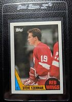 1987 TOPPS #56 STEVE YZERMAN DETROIT RED WINGS HOF NM-MT