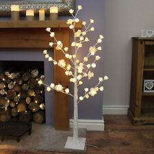 Festive Lights 1.25m Plug In Pre Lit LED Rose Twig Wishing Tree Decoration Light