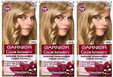 3 x Garnier Color Colour Intensity 8.0 Luminous Light Blonde - Permanent Dye