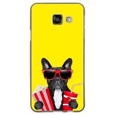 Coque souple pour Samsung Galaxy A3-2016 avec impression Motifs bulldog cine_2