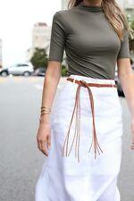 NWOT Theory Tyler Sunny Maxi Skirt White Lined Size US 6 AU 10
