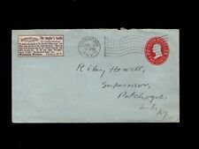The Anglers Guide corner sticker Richmond Hill NY Flag 1917 Cover & Insert 6k