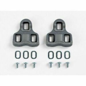 Wellgo Cleat Clipless Pedal Cleats Fit Look KEO Xpedo Bontrager Road Pedals Gray