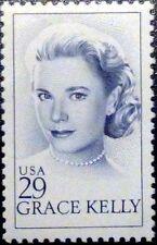 GRACE KELLY Fridge Magnet from a Genuine Vintage 1993 US Stamp