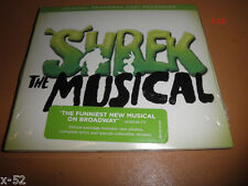 SHREK the MUSICAL rare DELUXE version CD Broadway Cast + PHOTOS + STICKERS