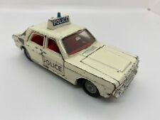 VINTAGE DINKY DIECAST - 255 FORD ZODIAC POLICE CAR