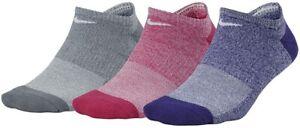 Nike Performance Women's 186460 No Show Training Socks 3-Pair Pack Size M