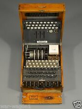 WW II German Photo  .......  Enigma Machine   --  001