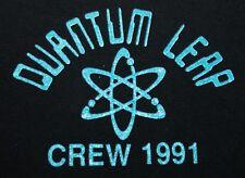 L * vtg 90s 1991 Quantum Leap tv show crew t shirt * 12.161
