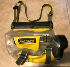 Ewa-Marine Underwater Camera Bag Case 10m 33ft Z25 Yellow w/ Adjustable Strap