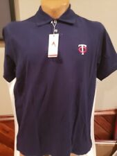 BEAUTIFUL Minnesota Twins Men's Sz 3XL Blue Antigua Polo Dress Shirt, NEW&NICE!