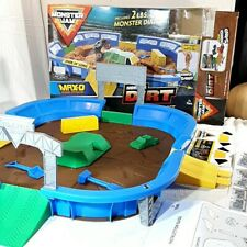 "Monster Jam 24"" Playset Dirt Arena no dirt or monster truck"