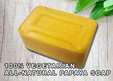 Exfoliating Papaya Soap for Skin Whitening/Bleaching ALL-NATURAL 100% VEGETARIAN