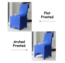 Chair Covers for Dining Room | Flat Arched | Party Wedding Banquet Stretch Fit