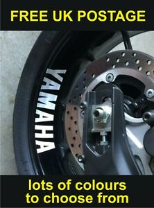 Yamaha Motorbike Wheel Rim Stickers Logo Vinyl