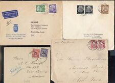 4 GERMANY COVERS to USA 1883/1958