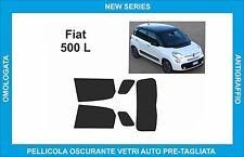 pellicole oscuranti vetri fiat 500L dal 2012 in poi kit posteriore