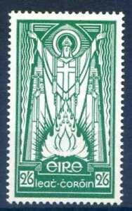Ireland SG123 1943 2/6 Emerald Green M/M