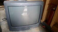 Sharp 20 inch CRT TV w A/V inputs retro gaming Model 20R-S100S