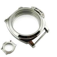 44mm Edelstahl Uhr Gehäuse Watch Case Für ETA 6497 6498 ST3600 Uhrwerk Movement