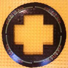 Lego Brick 10 x 10 Corner Rd w/Slope 33 Edge Axle Hole & Cutout Set of 4 BLACK
