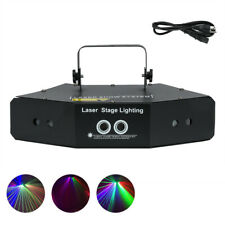 RGB 6 Lens Scan Laser Light Line Beam with Stage Lighting Effect