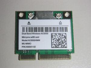 Mini PCIe WLAN Card mit Intel AX200 Chipset + BT5 Wireless AC + AX bis 2400Mb/s