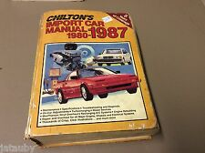 CHILTON'S IMPORT CAR MANUAL 1980-1987 MODELS IMPORTED TO US AND CANADA