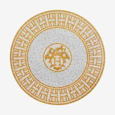 NIB Authentic Hermes New Mosaique au 24 Dessert Plate Medium Small Set of x 2