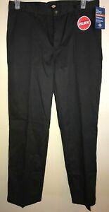 boys NEW NWT DICKIES school UNIFORM PANTS size 20 HUSKY FLAT FRONT classic fit