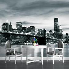 Fotomurale Carta da parati Foto Carta da parati carta da parati immagine NY New York Ponte di Brooklyn 3fx226p8
