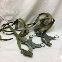 Vintage Military WWII Mountain Division Pair of Ice Clamp Cleats Creepers