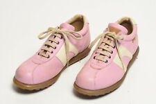 CAMPER sz 39 Pink and Cream PELOTAS. Made in SPAIN
