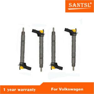 4 PCS OUT OF BOX 03L130277A Fuel Injector 2009-2014 Volkswagen 2.0L-L4 TDI