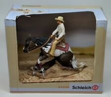 Schleich 42036 Horse Gift Set Western Cowboy Riding Retired Collectible Toy