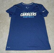 NFL TEAM APPAREL/NIKE Dri-Fit San Diego Chargers S/S Shirt, XL ~ MINT