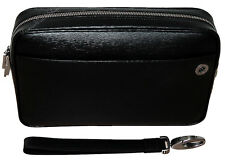 NEW Mont Blanc 4810 Westside Leather Clutch Bag with Zipper 104611