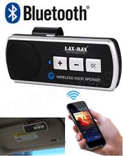 Wireless Bluetooth Hands Free Calling Car Visor Clip Kit Speaker Smart Phone New