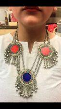 Afghan Vintage étnico tribal joyería Distintivo Collar kuchhi hecho a mano
