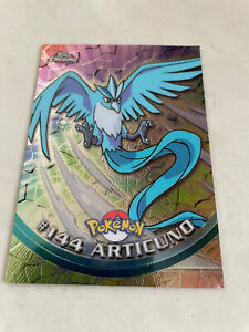 Articuno  CHROME Topps Foil Holo Pokemon Card Rare  #144Awesome Artwork