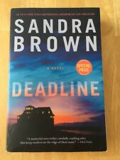 Deadline by Sandra Brown (2017, Paperback) Good +