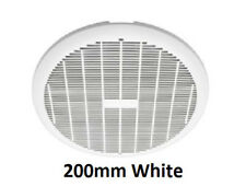 Heller 200mm White Ducted Exhaust Fan Laundry Bathroom Ventilation Ceiling Round