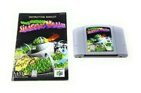 Space Station: Silicon Valley (Nintendo 64, N64) Cartridge w/Manual FREE SHIP!!!