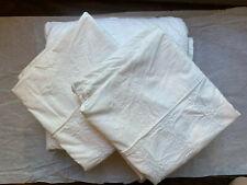 Target Rachel Ashwell Simply Shabby Chic King Duvet White Embroidered + 2 shams