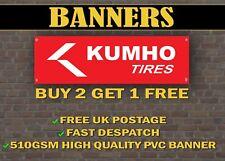 Kumho TYRES Banner for Garage / Shop Display