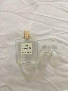 EMPTY Chanel No5 Perfume Bottle Eau de Parfum 50ml