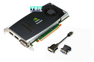 Dell Nvidia Quadro FX1800 768MB GDDR3 PCI-E x16 Video Graphics Card P418M