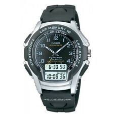 Casio Men's Analogue & Digital Back Light Alarm Auto Calendar Resin Strap Watch,